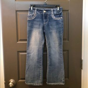 Girl jeans. Size 6.